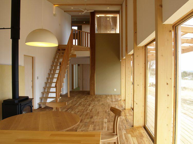 群馬県赤城山の戸建住宅デザイン。群馬の家。SMDW津久井誠人設計