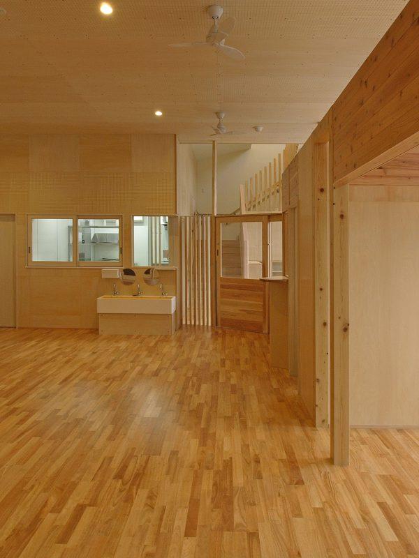 保育園への用途変更、コンバージョンSMDW津久井誠人阿部真紀設計