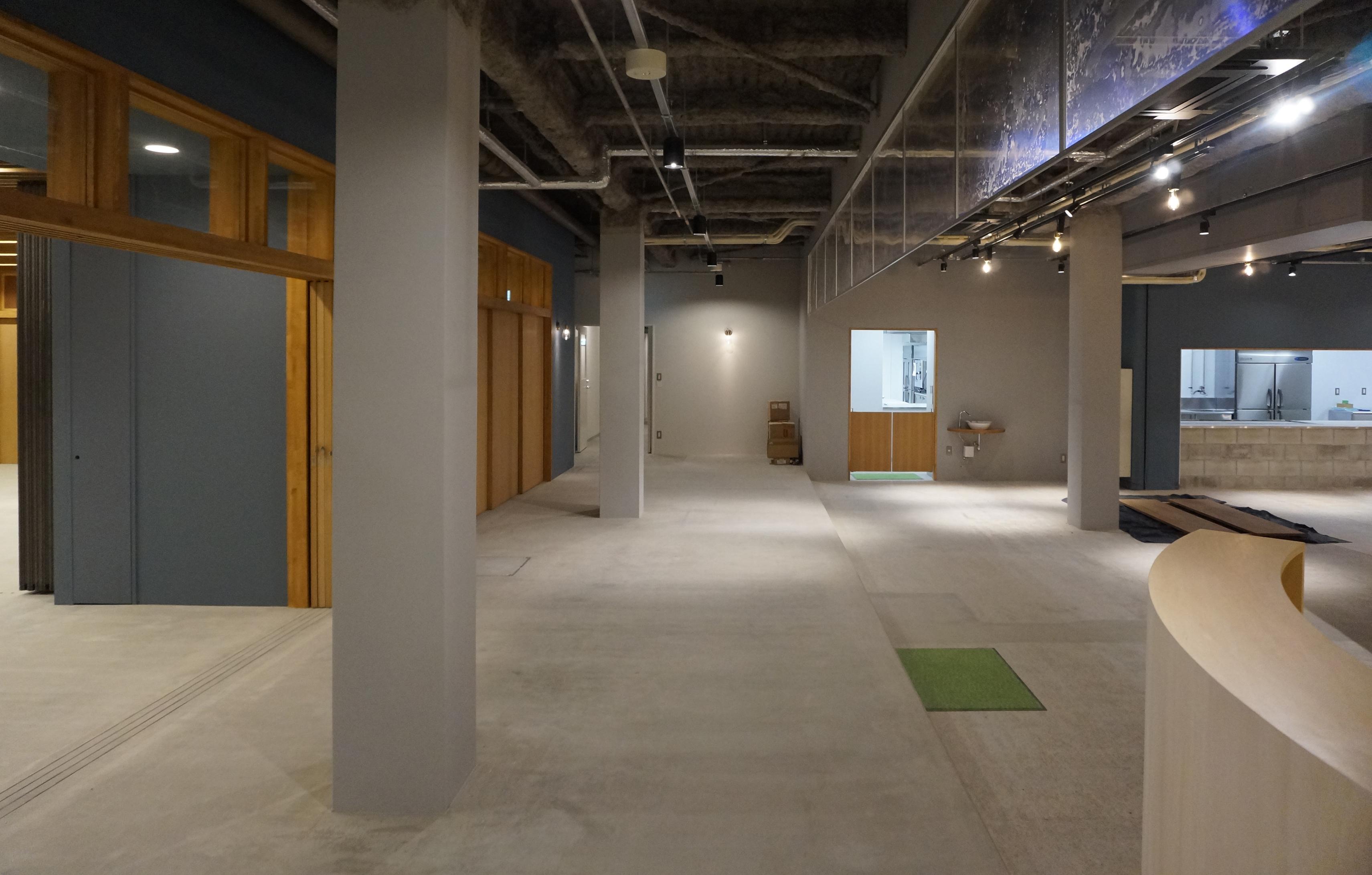公営住宅の改修。福祉カフェのデザイン